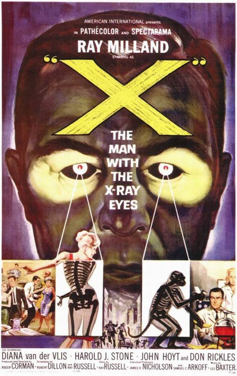 X-The Man with X-Ray Eyes (1963)