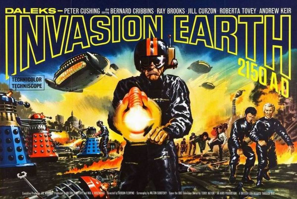 Daleks Invasion Earth 2150 AD (1966)