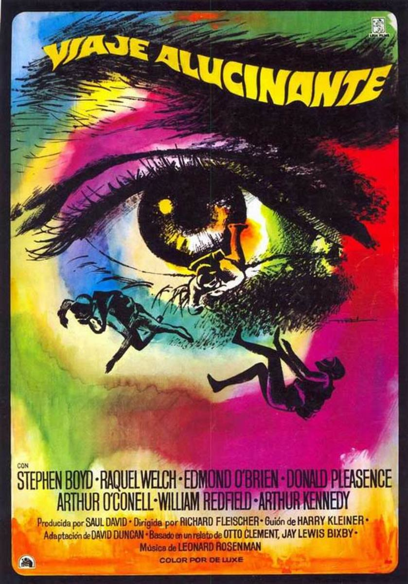 Fantastic Voyage (1966) Spanish poster