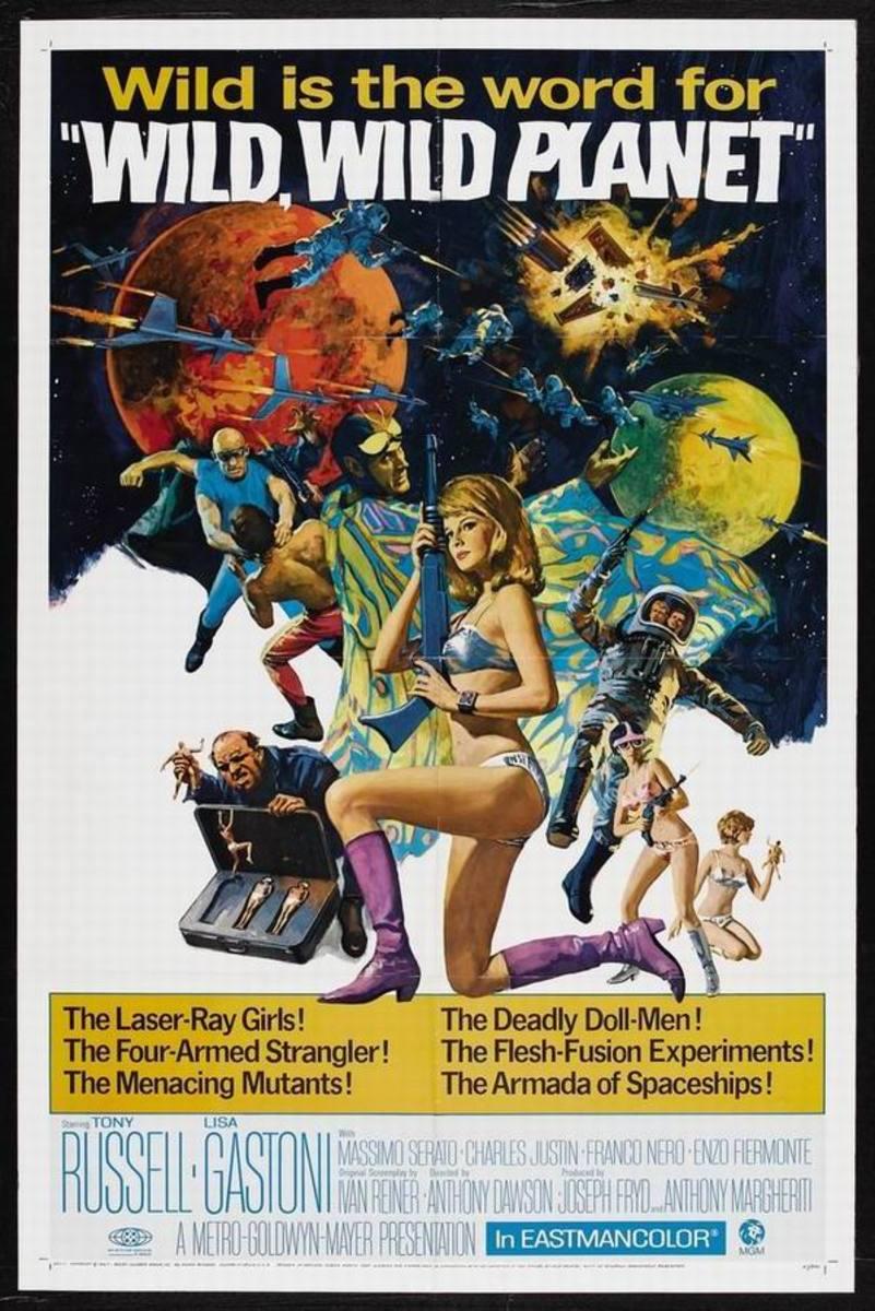 Wild Wild Planet (1965)