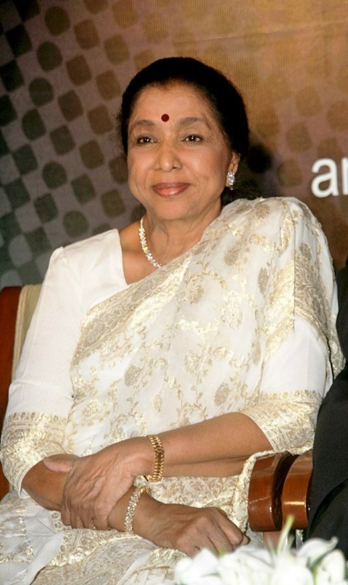 Asha Bhonsle - A Tribute To The Legendary Indian Bollywood Singer