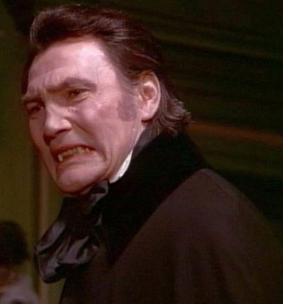 Jack Palance as Dracula (1974)