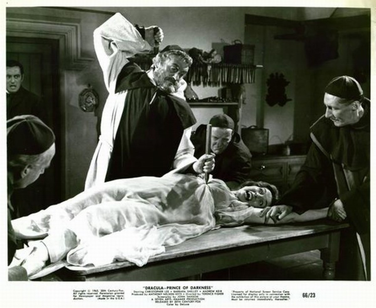 Dracula Prince of Darkness (1966) lobby card