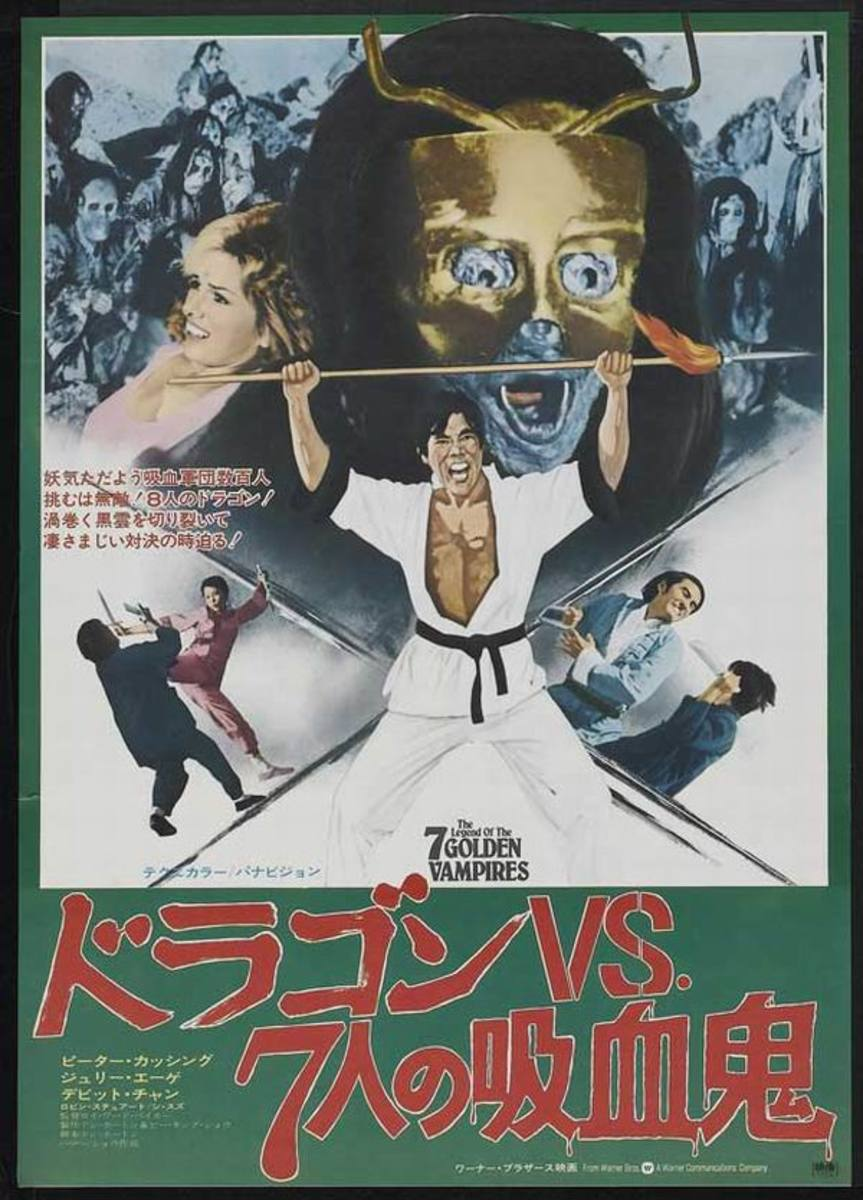 Legend of the 7 Golden Vampires (1974) poster