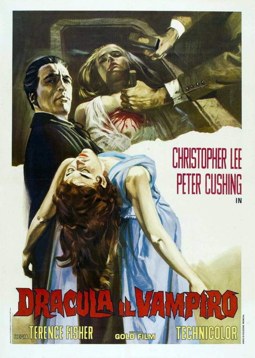Dracula (1958) Italian poster