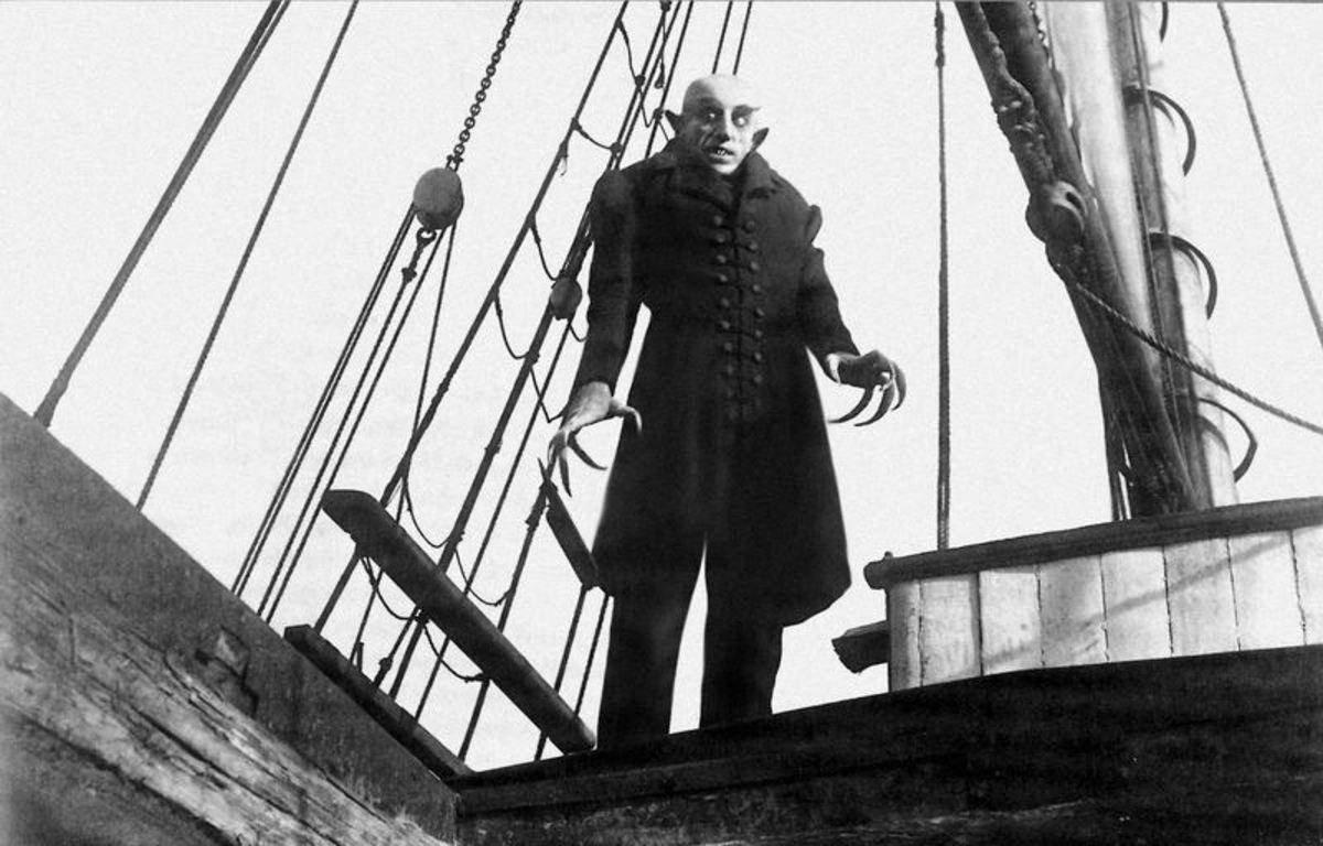 Max Schreck in Nosferatu (1922)
