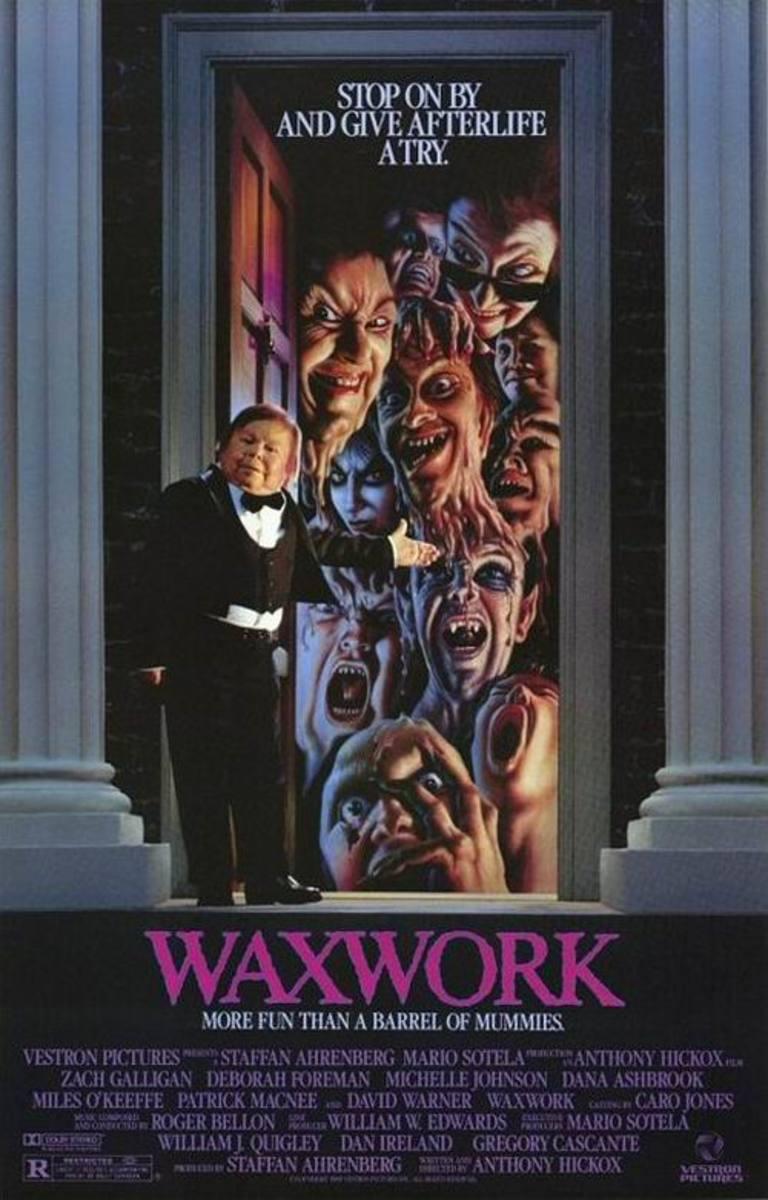 Waxwork (1988) poster