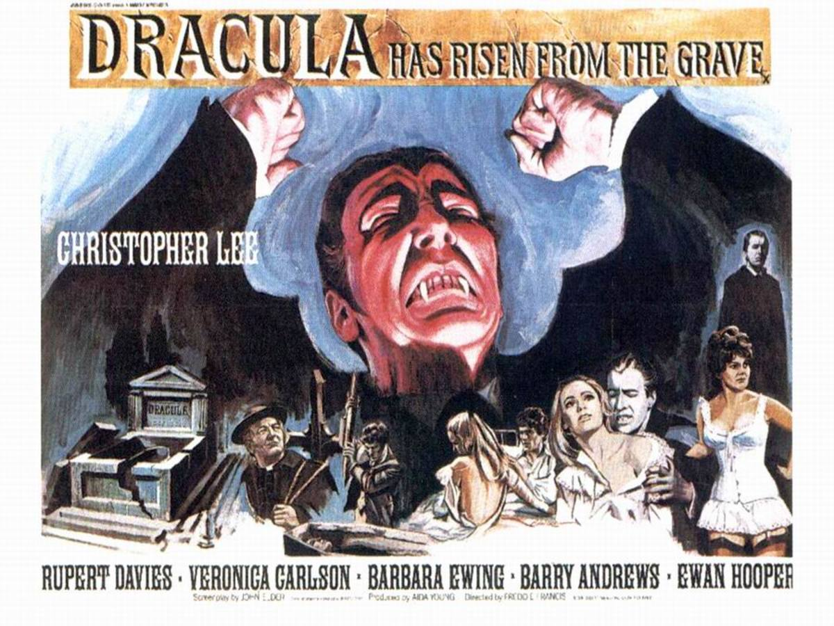 Dracula Has Risen from the Grave (1968) poster