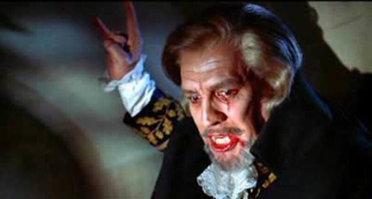 Charles Macaulay as Dracula in Blacula (1972)
