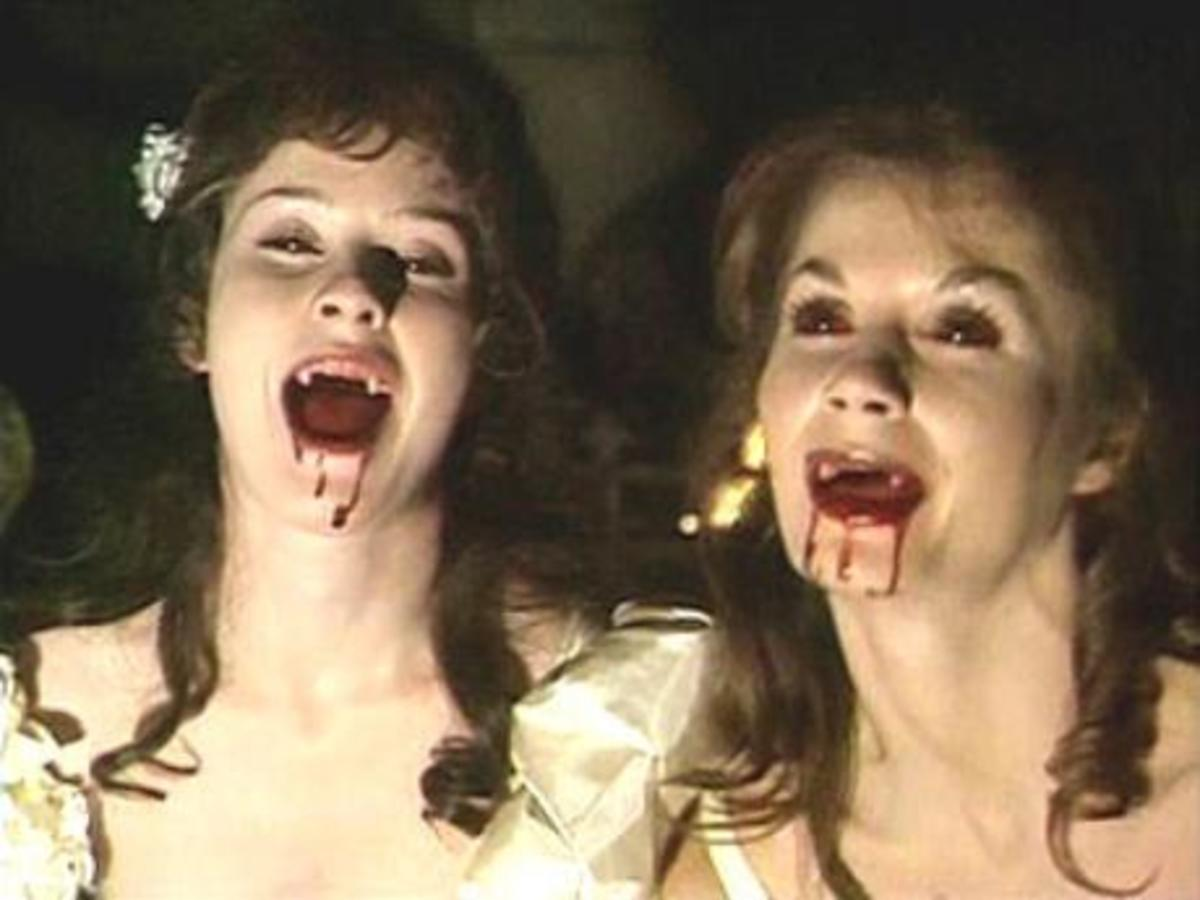 Dracula's brides in Count Dracula (1977)