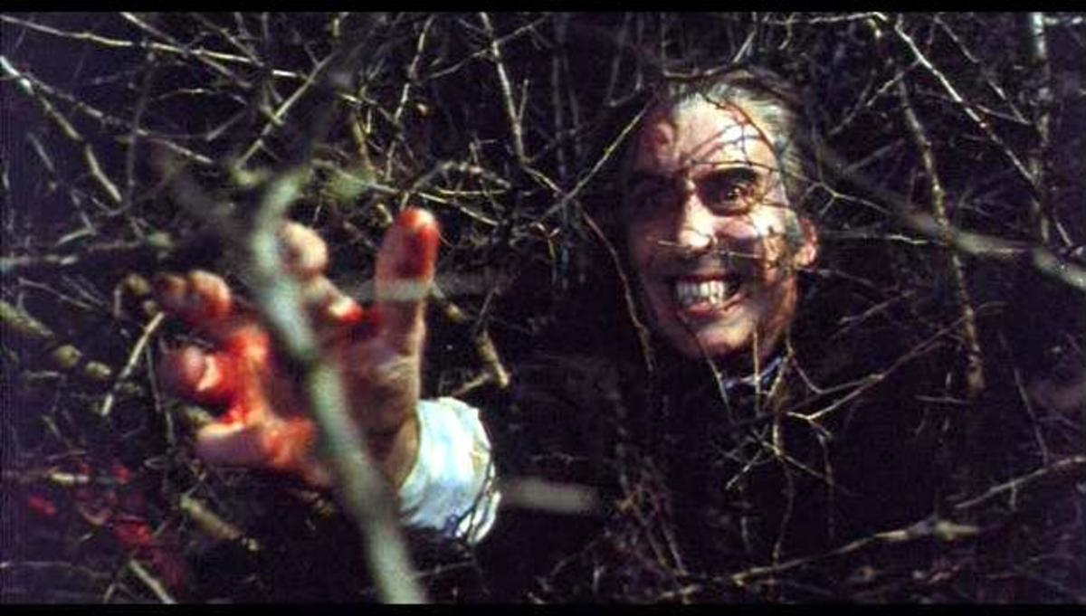 Christopher Lee in Satanic Rites of Dracula (1973)