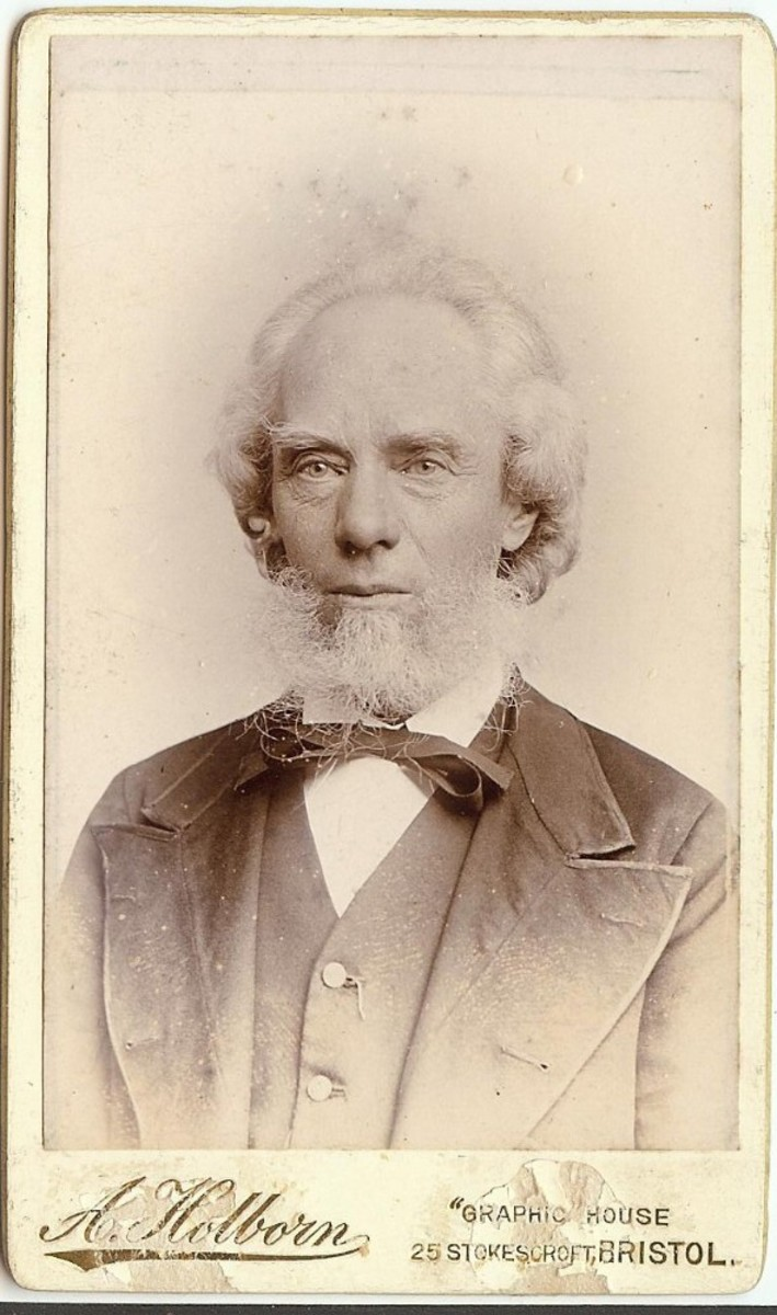 George Burgess 1899, aged 70