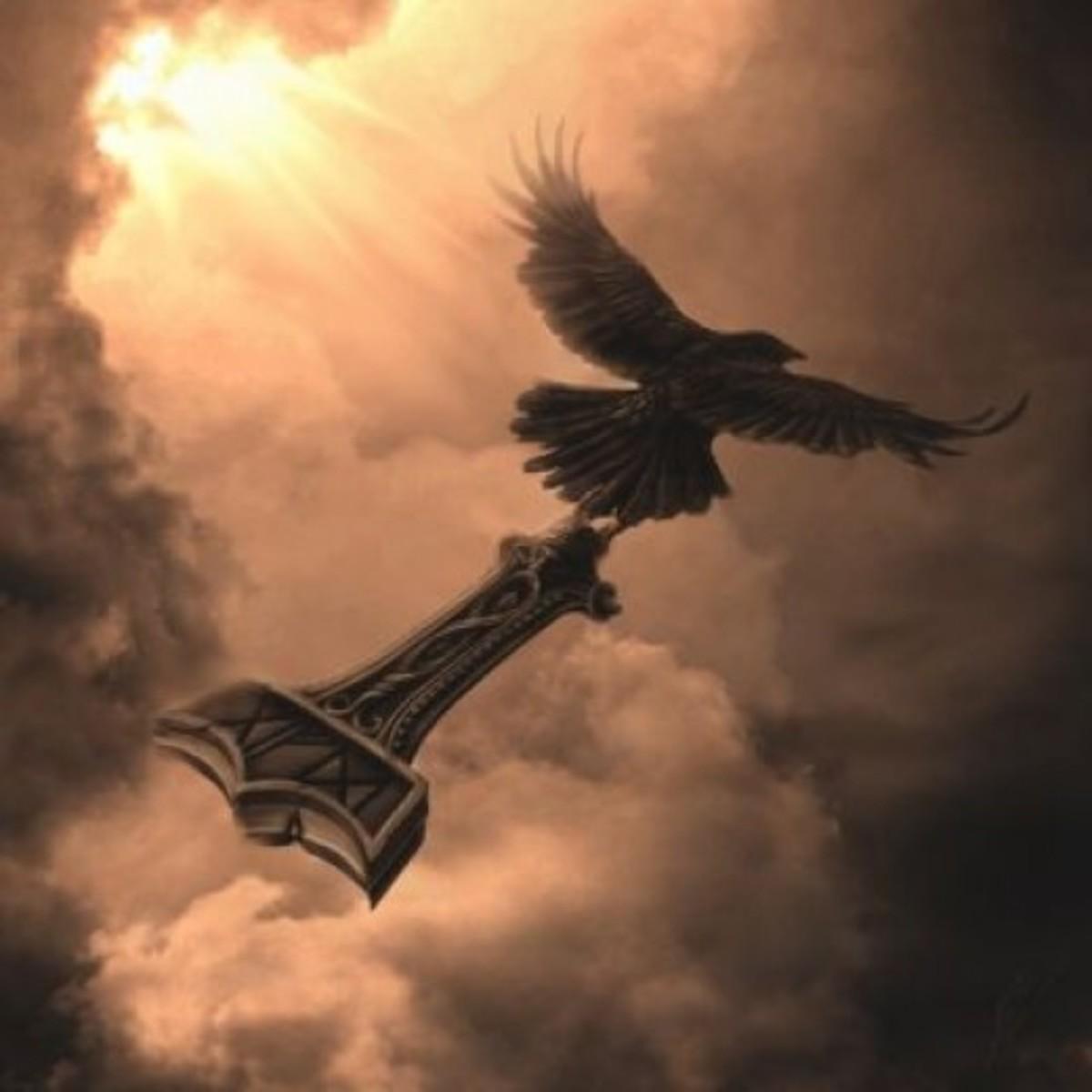 The sky belongs to Asagods... As long as the raven flies