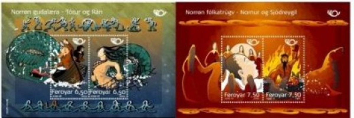Thor & Norns Stamps