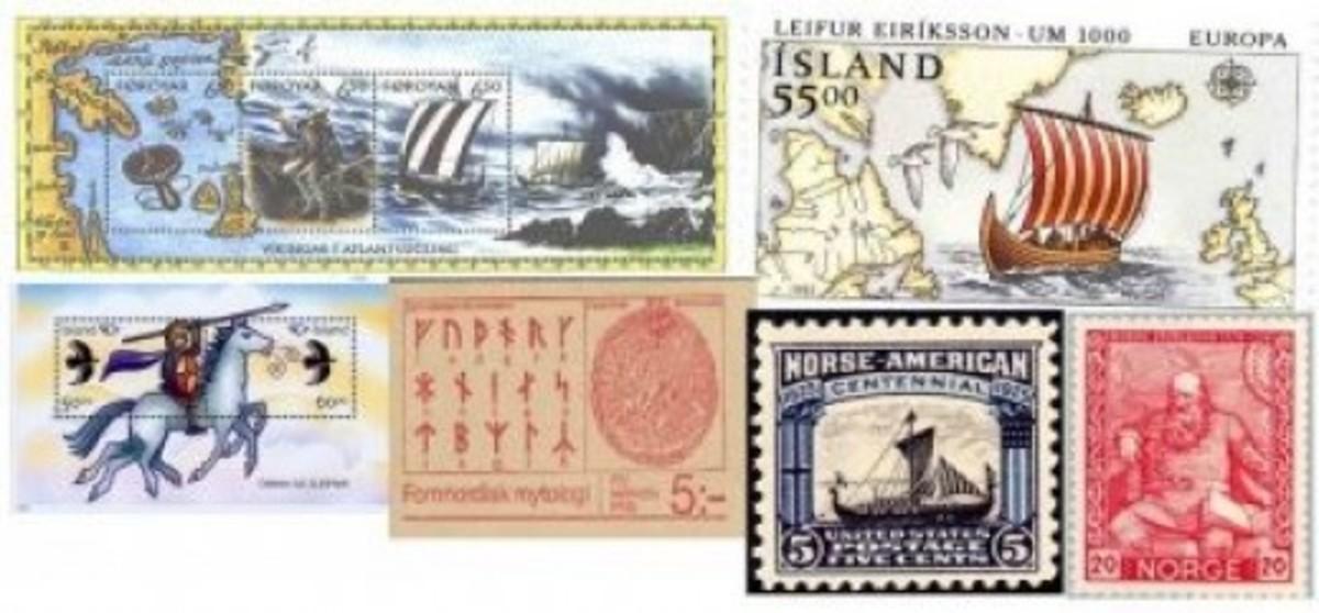 Various 'Viking' Stamps