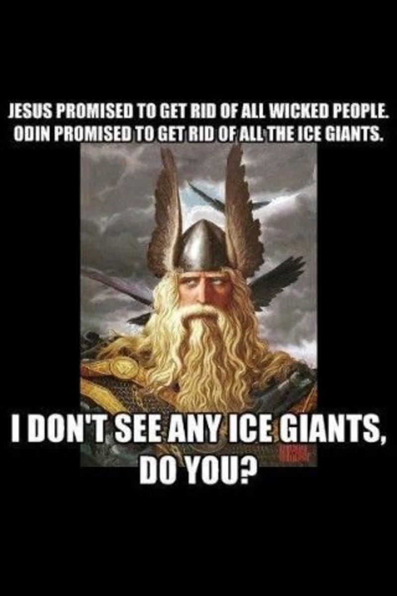 Odin to Jesus