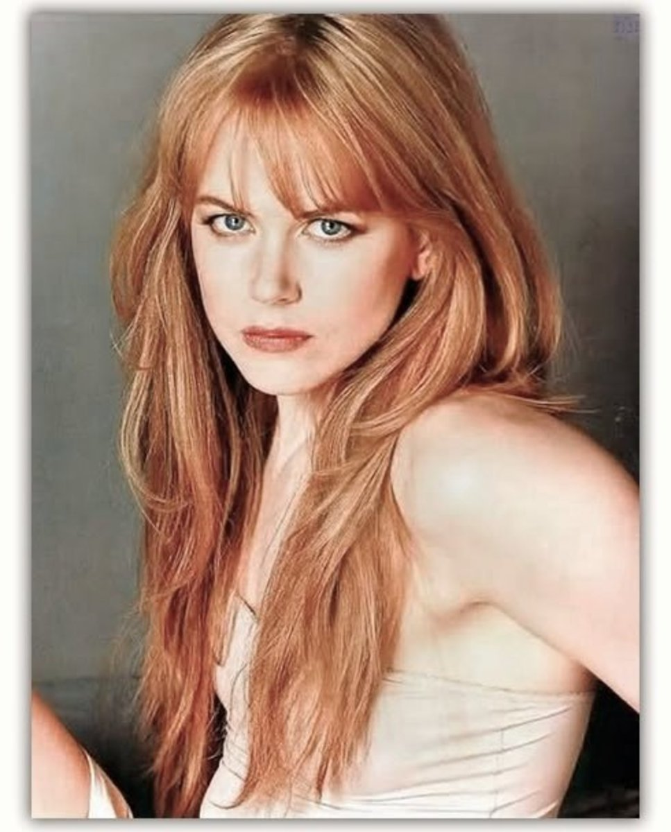 Nicole Kidman in the perfect strawberry blonde shade