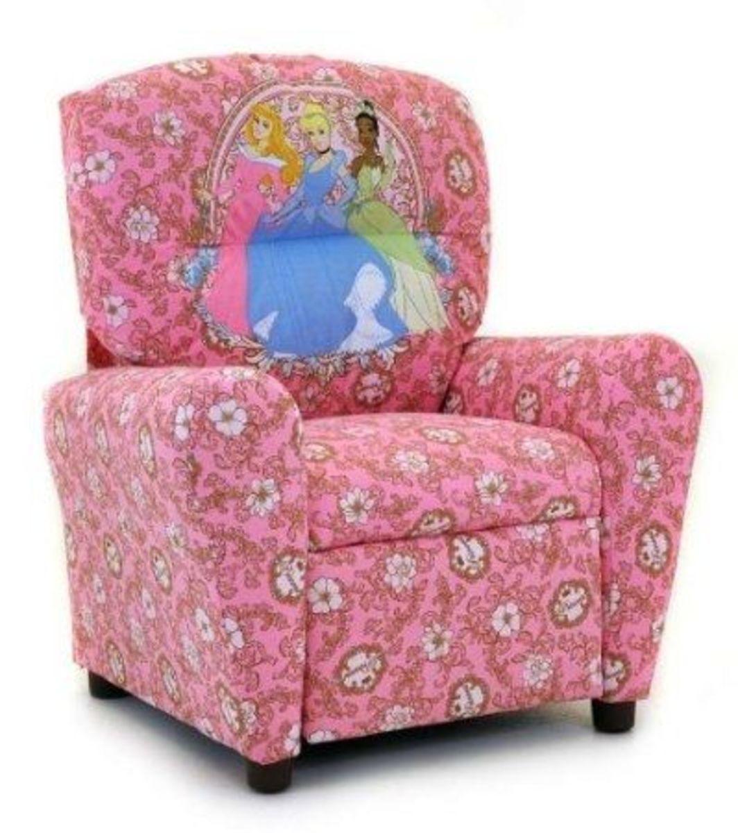 Disney's Princess Kid's Recliner