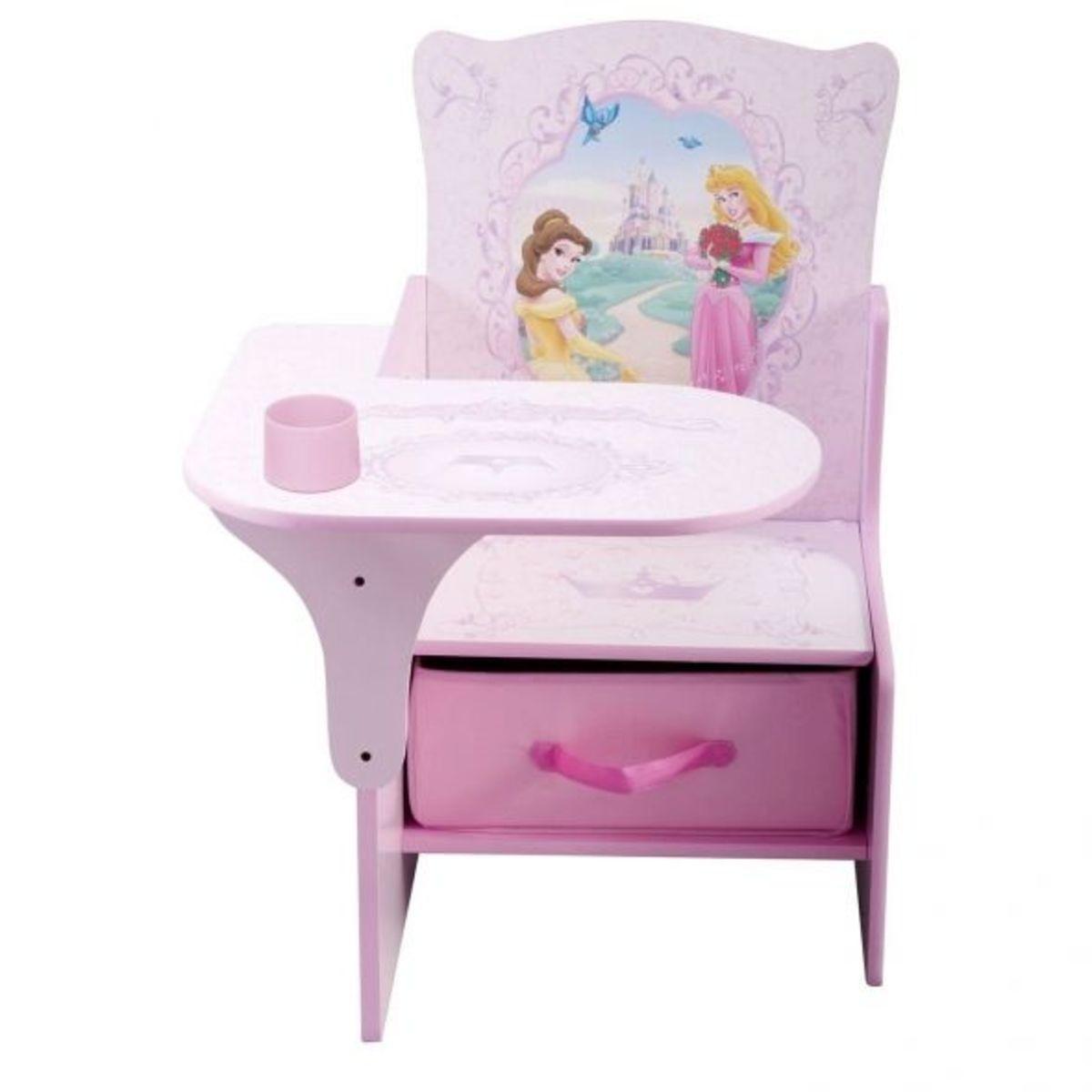 Pink Wooden Princess Children's Chair