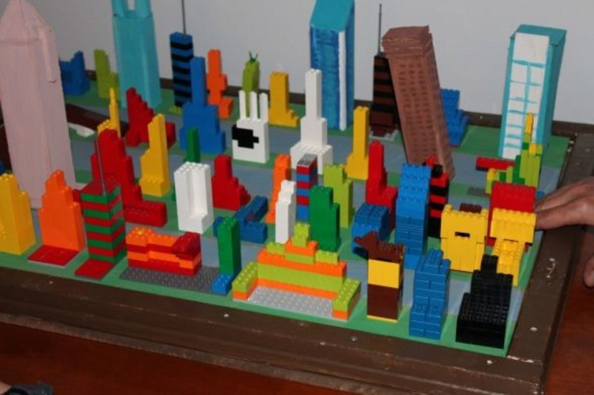 Lego earthquake project.