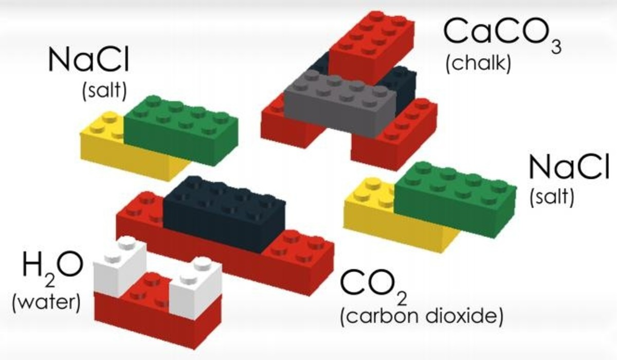 Lego chemistry science project.
