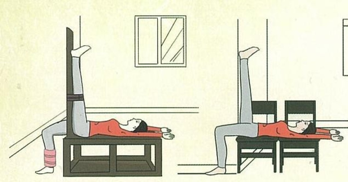 The correct Way To Do Lajin Tendons Stretching Exercise. At least 15 mins on each side.