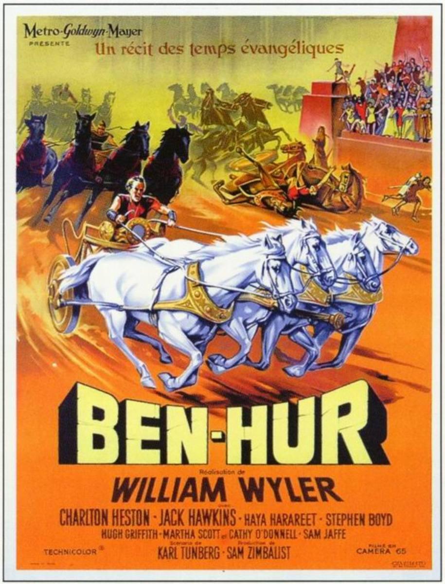 Ben-Hur (1959) French poster