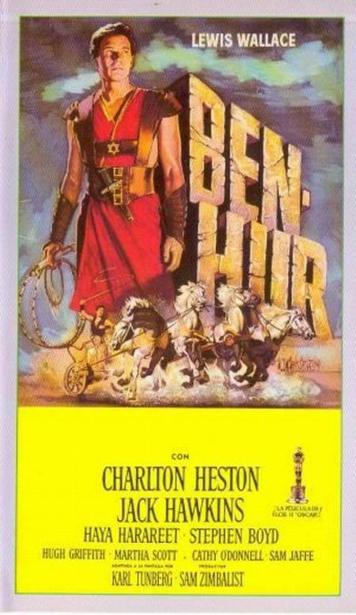 Ben-Hur (1959) Spanish poster