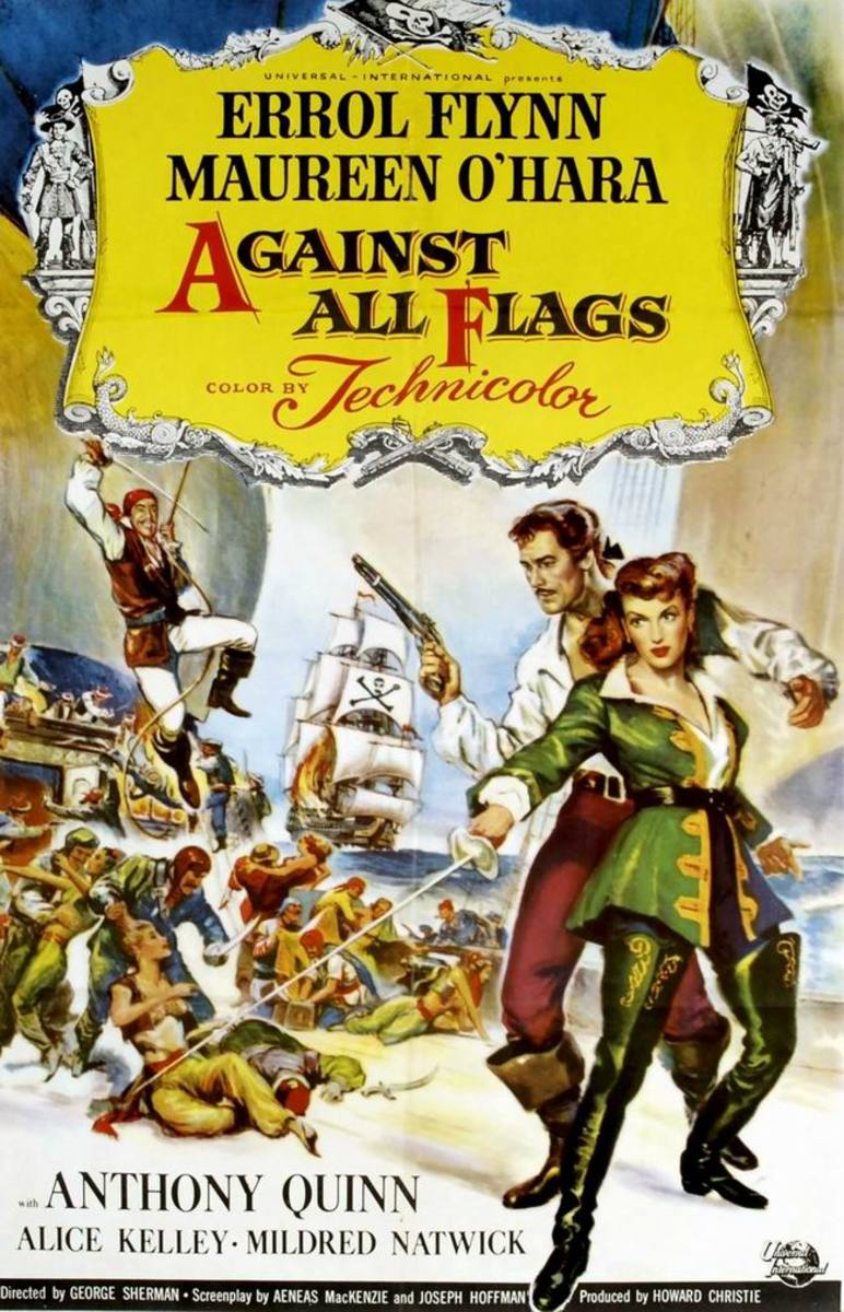 Against All Flags (1952)