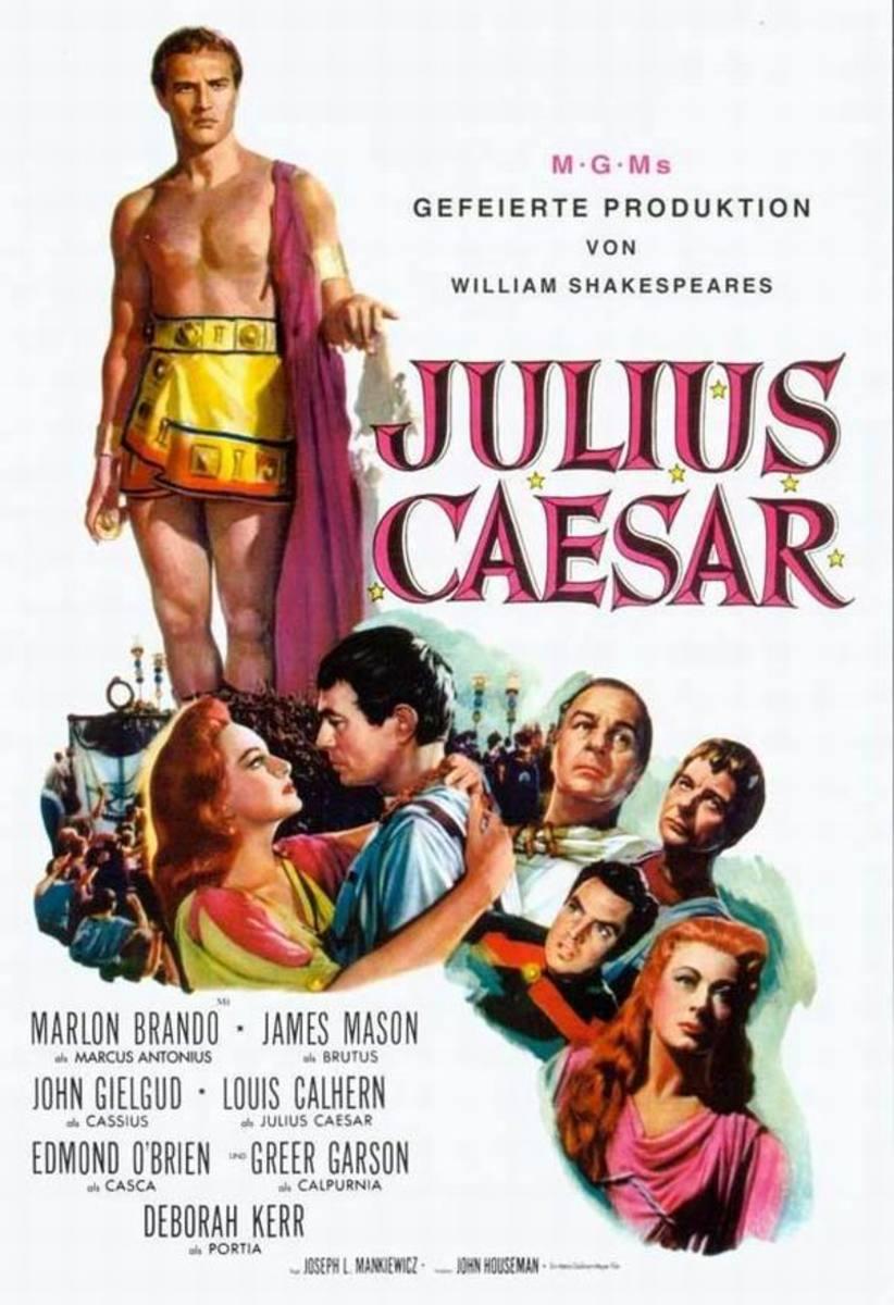 Julius Caesar (1953) German poster