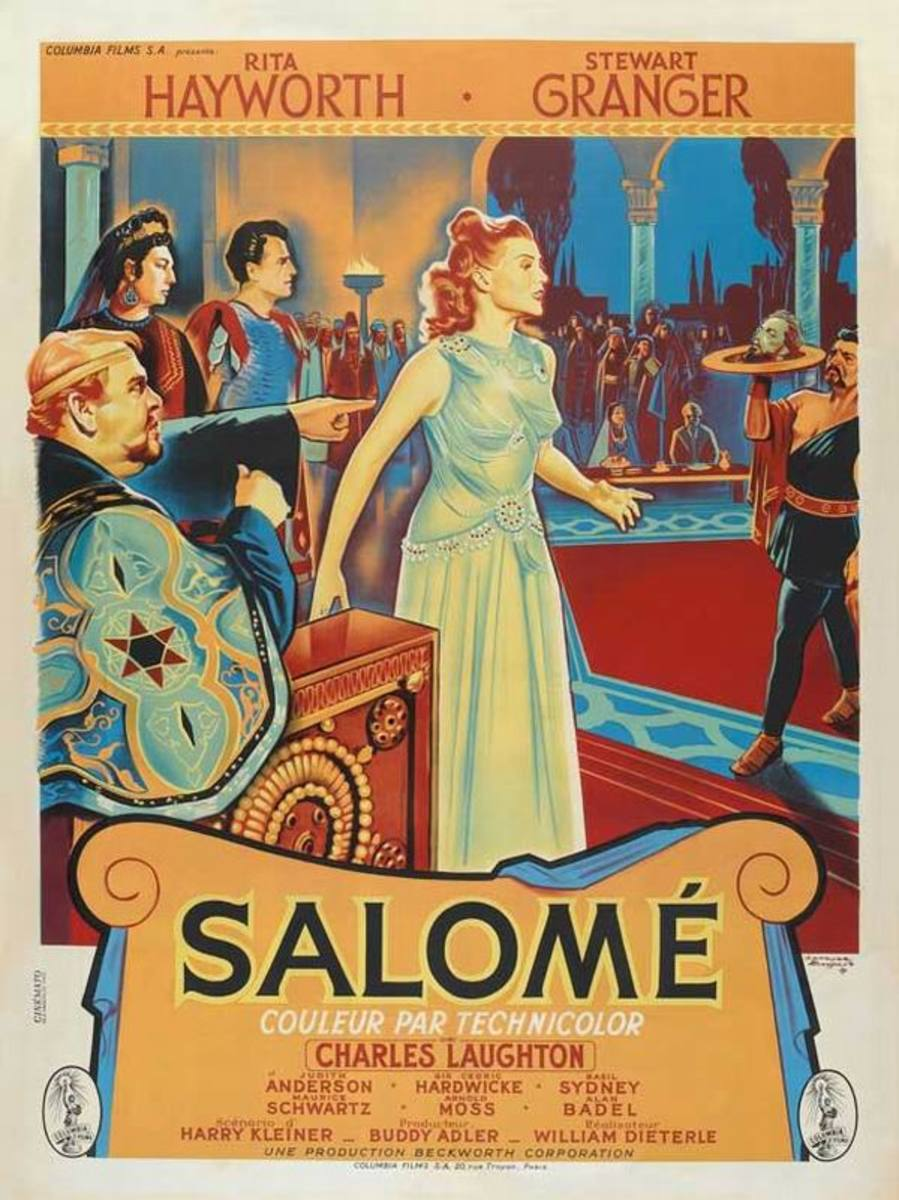 Salome (1953) French poster
