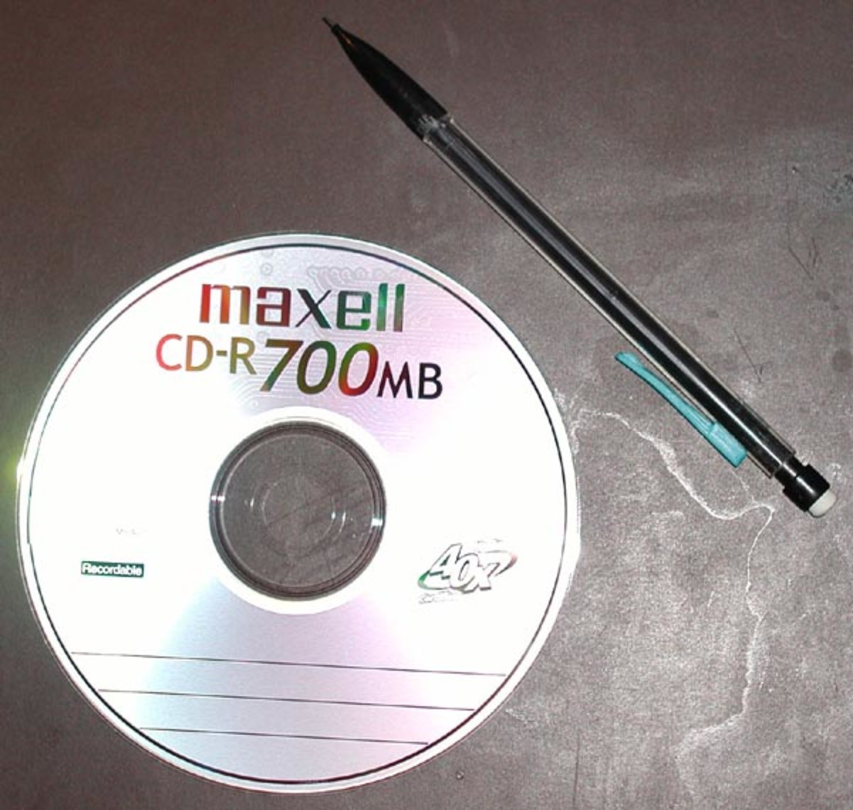 The CD was the storage media for audio files