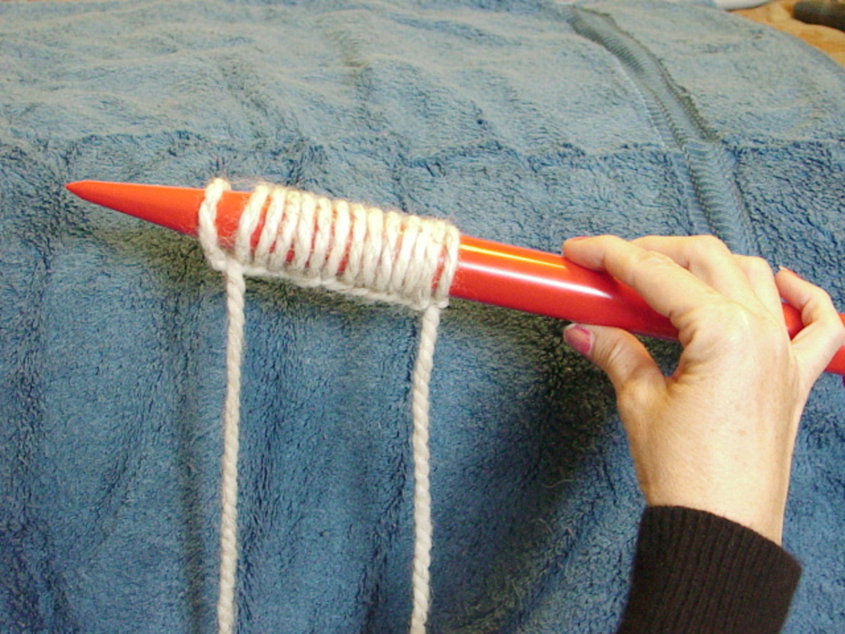 Beginners Knitting. How To Knit