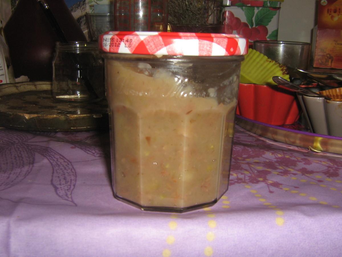 Home made chestnut cream
