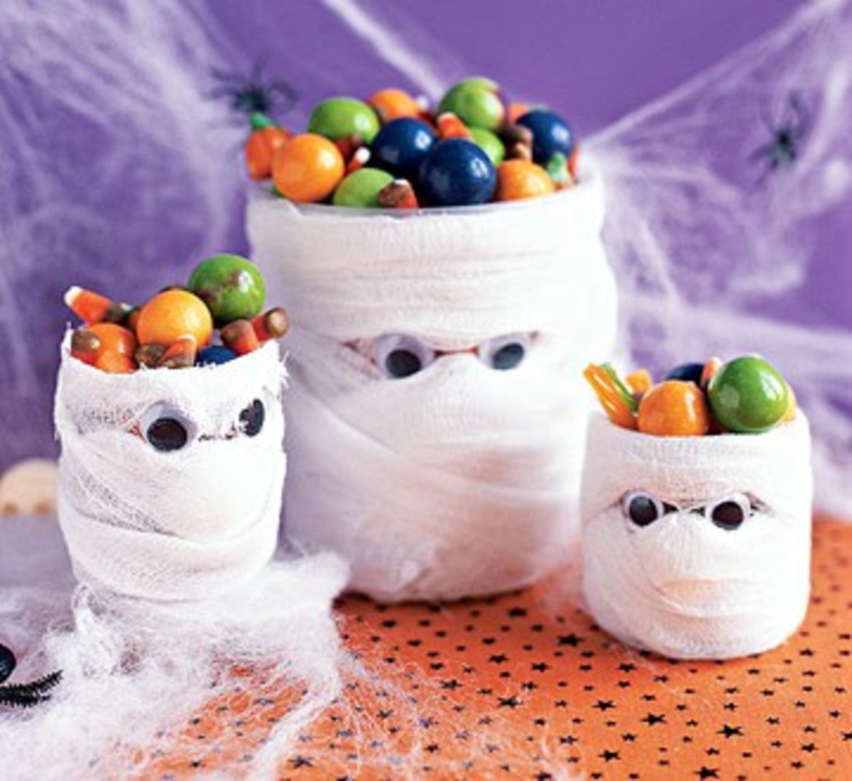 Ghost Candy Jars