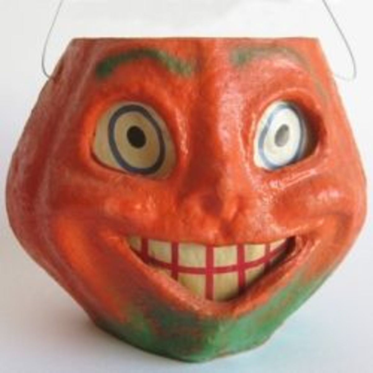 Vintage Halloween Paper Mache Decorations