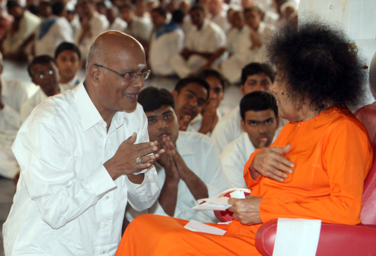 """When Swami is in your heart, nothing can happen to it."""
