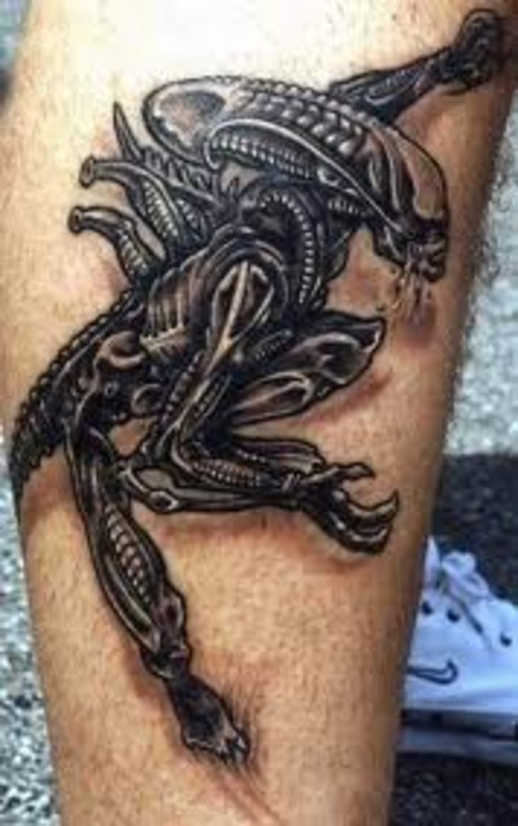 Alien Tattoos And Designs-Alien Tattoo Meanings And Ideas-Alien Tattoo Pictures