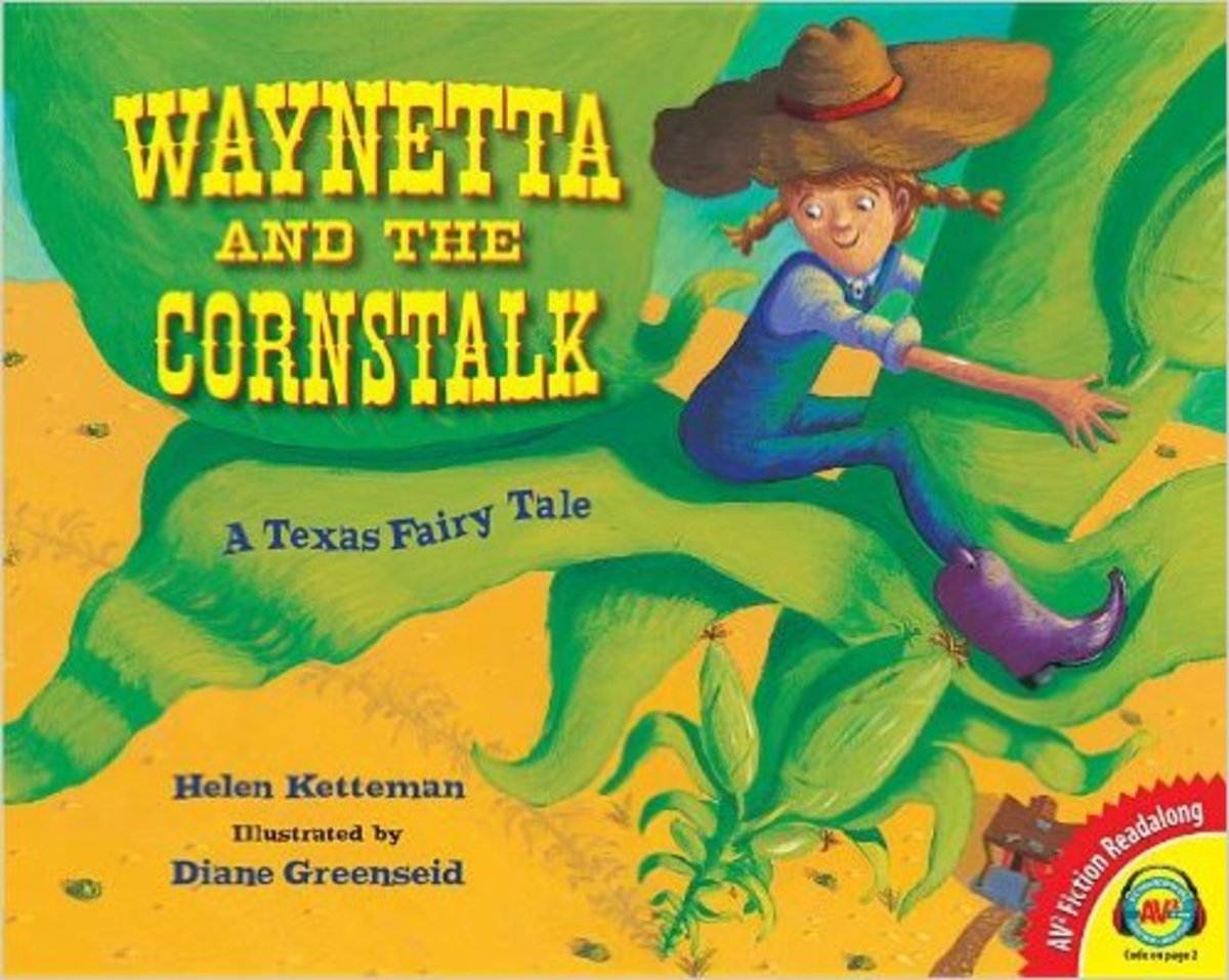 Waynetta and the Cornstalk: A Texas Fairy Tale by Helen Ketteman