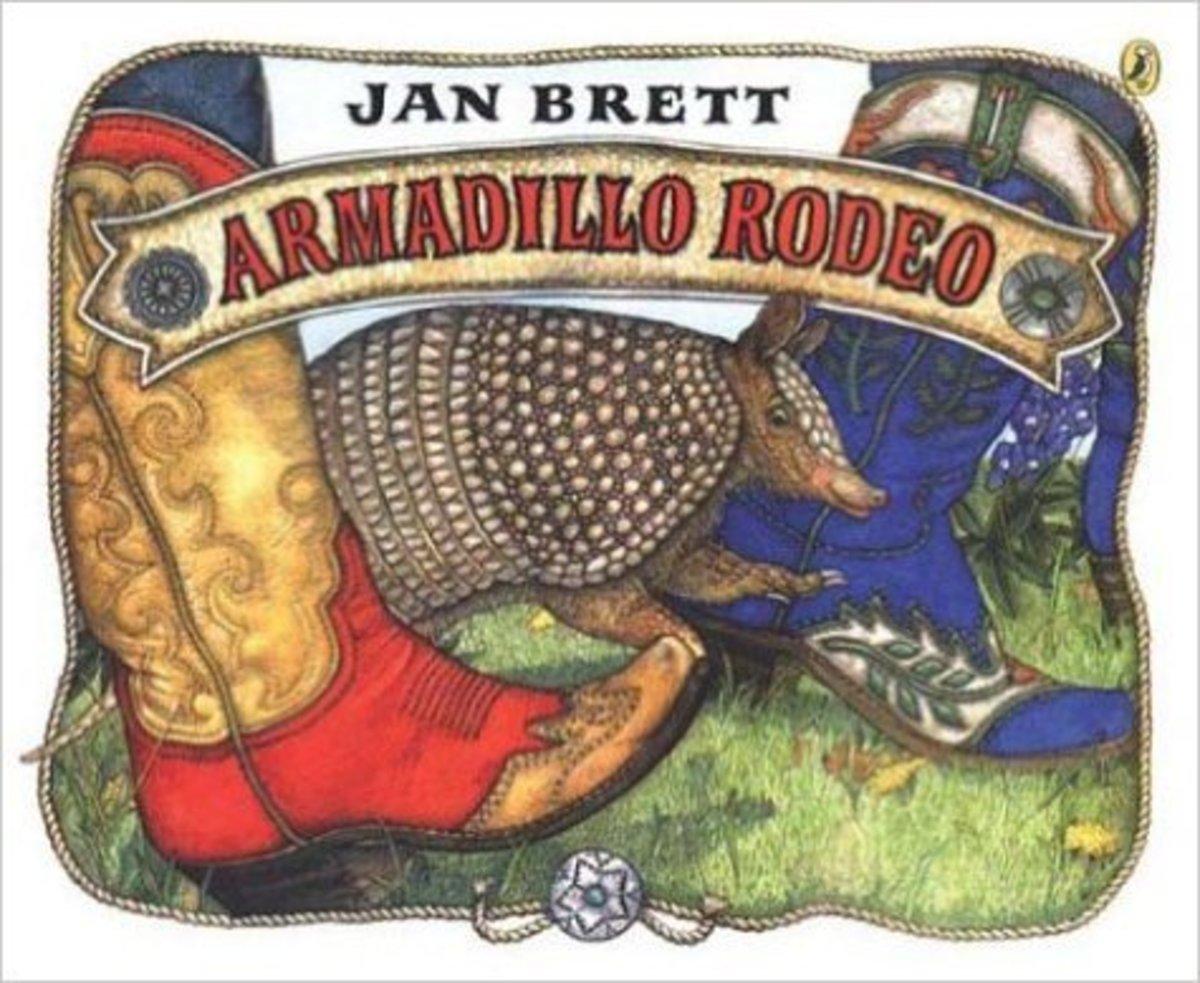 Armadillo Rodeo by Jan Brett