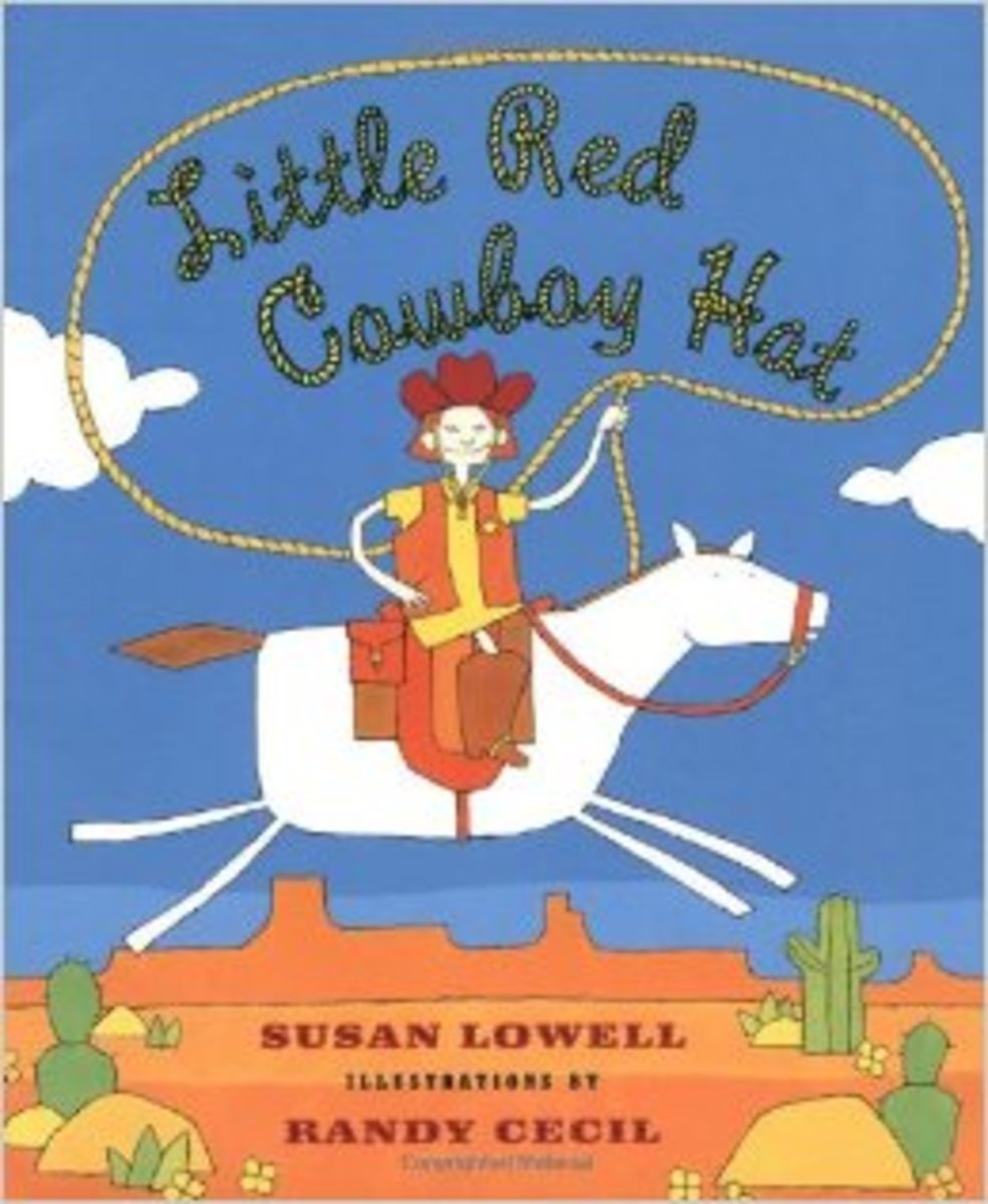 Little Red Cowboy Hat by Susan Lowell