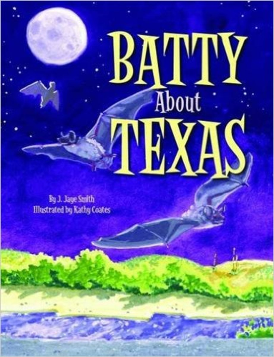 Batty About Texas by J. Smith