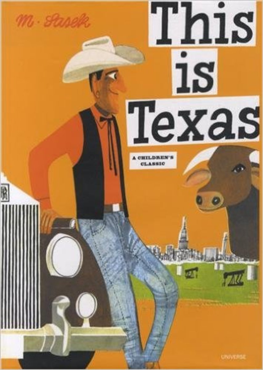 This Is Texas by Miroslav Sasek - Book images are from amazon.com.