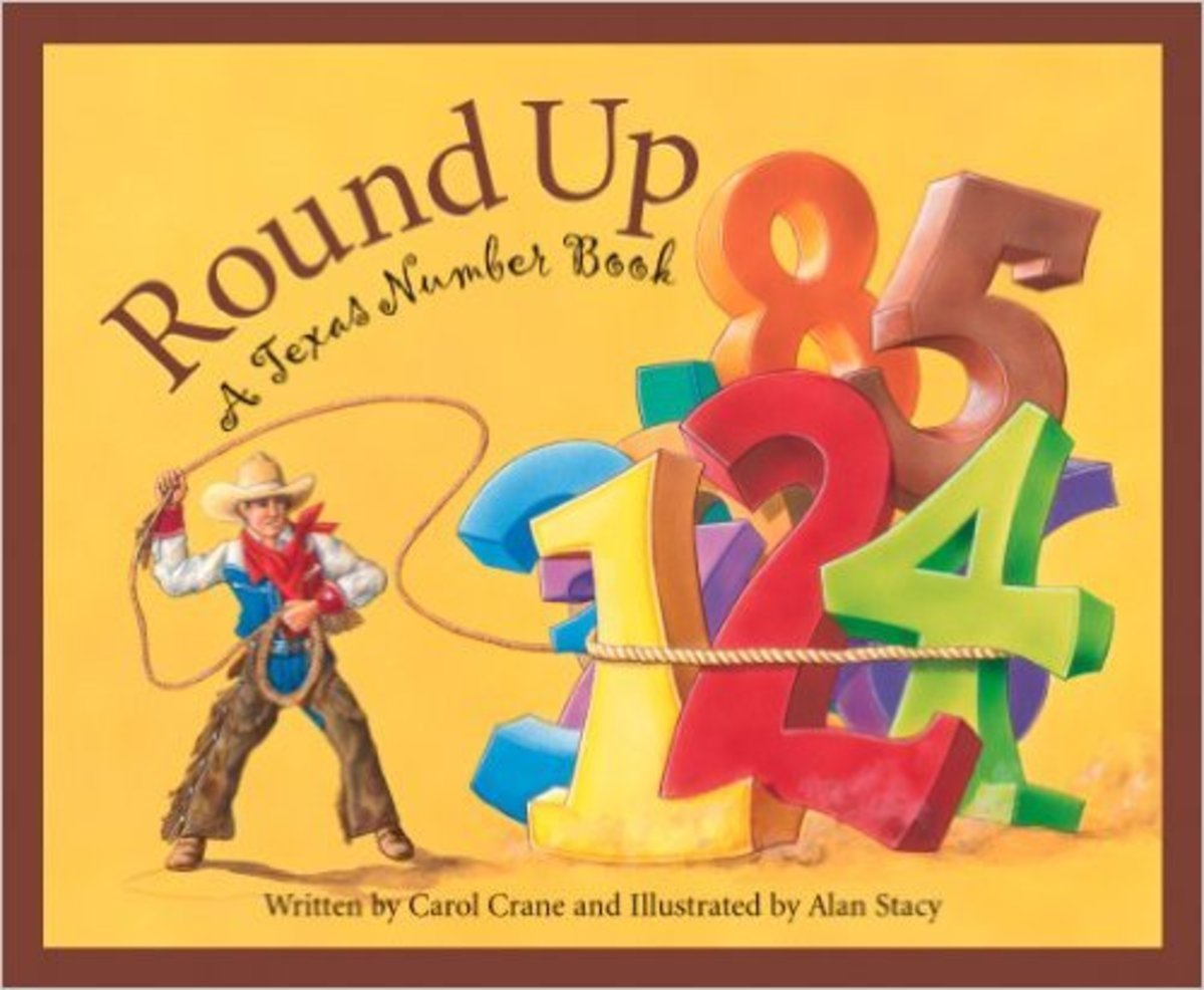 Round Up: A Texas Number Book by Carol Crane