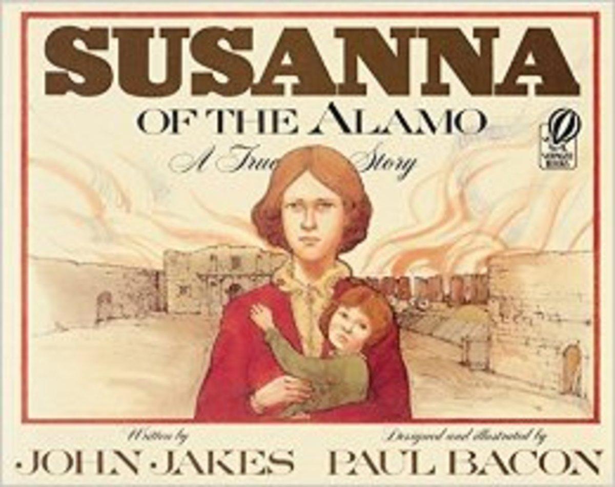 Susanna of the Alamo: A True Story by John Jakes