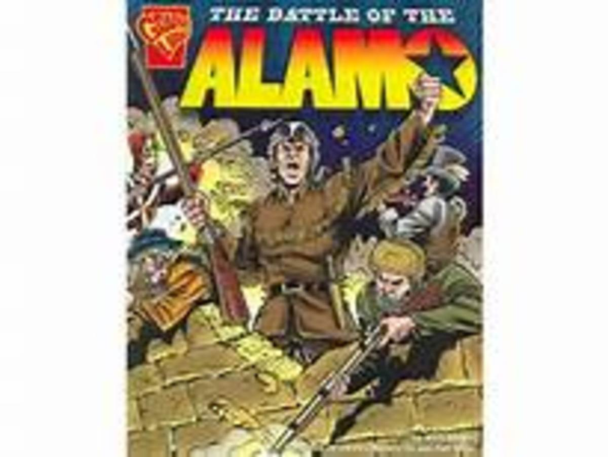 The Battle of the Alamo (Graphic History) by Matt Doeden
