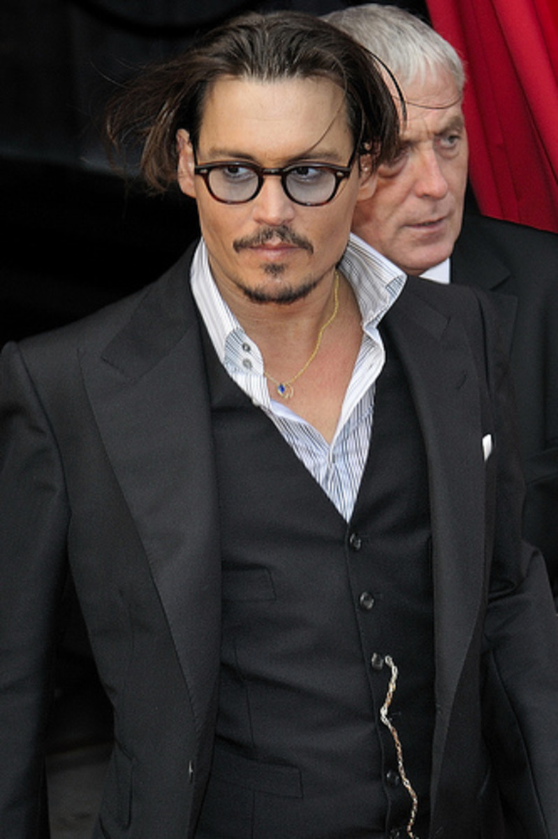 Johnny Depp.  Yup, one of my favorites.