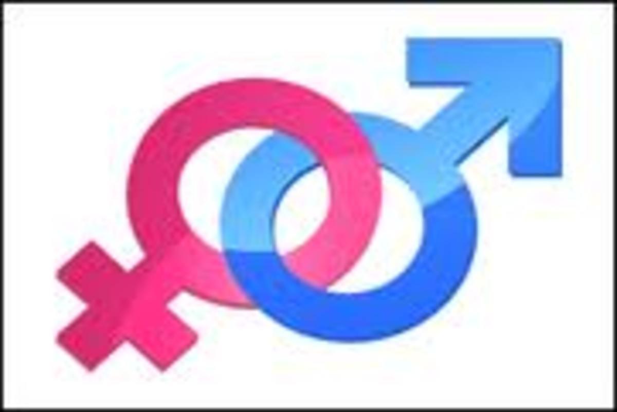 Gender Symbol: Female Male Sign