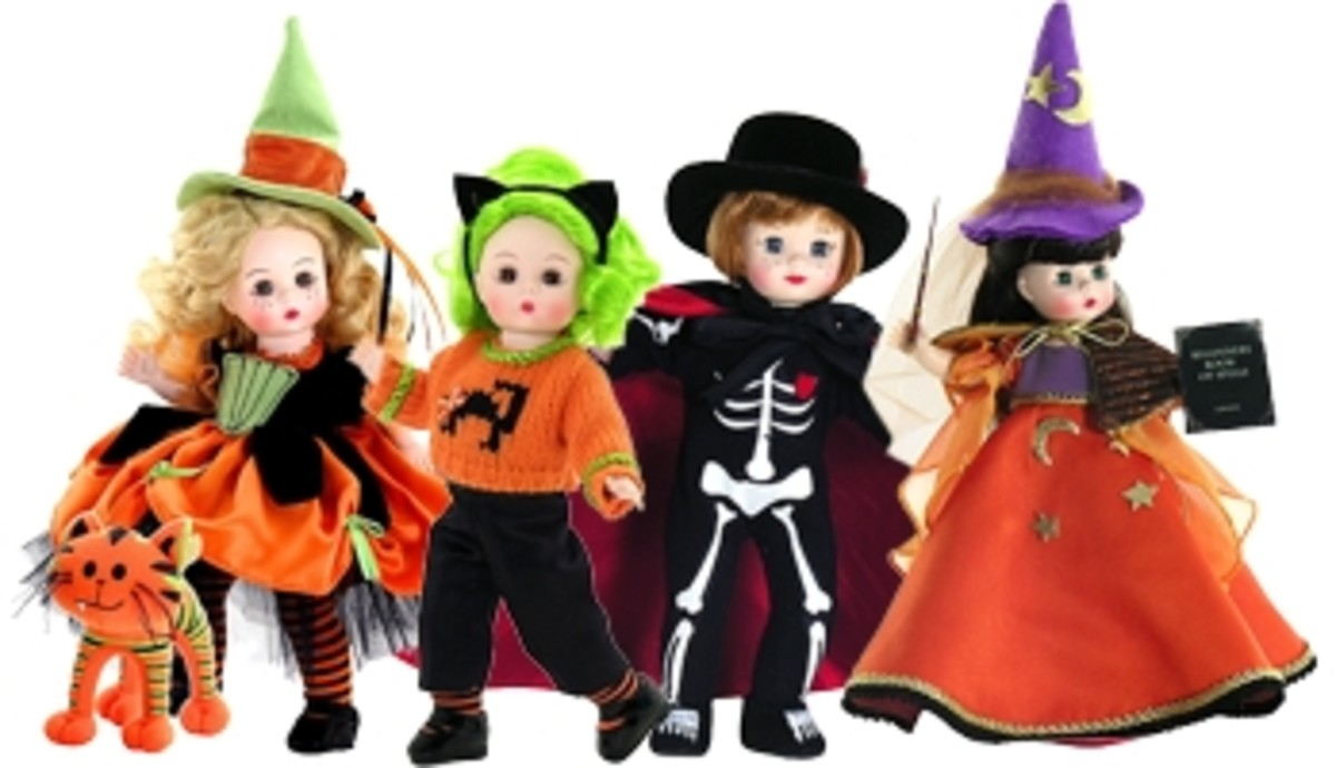 Top Toys - Happy Halloween - Madame Alexander Style - Beautiful Collectible Dolls That Inspire Dreams - Motivational Quo