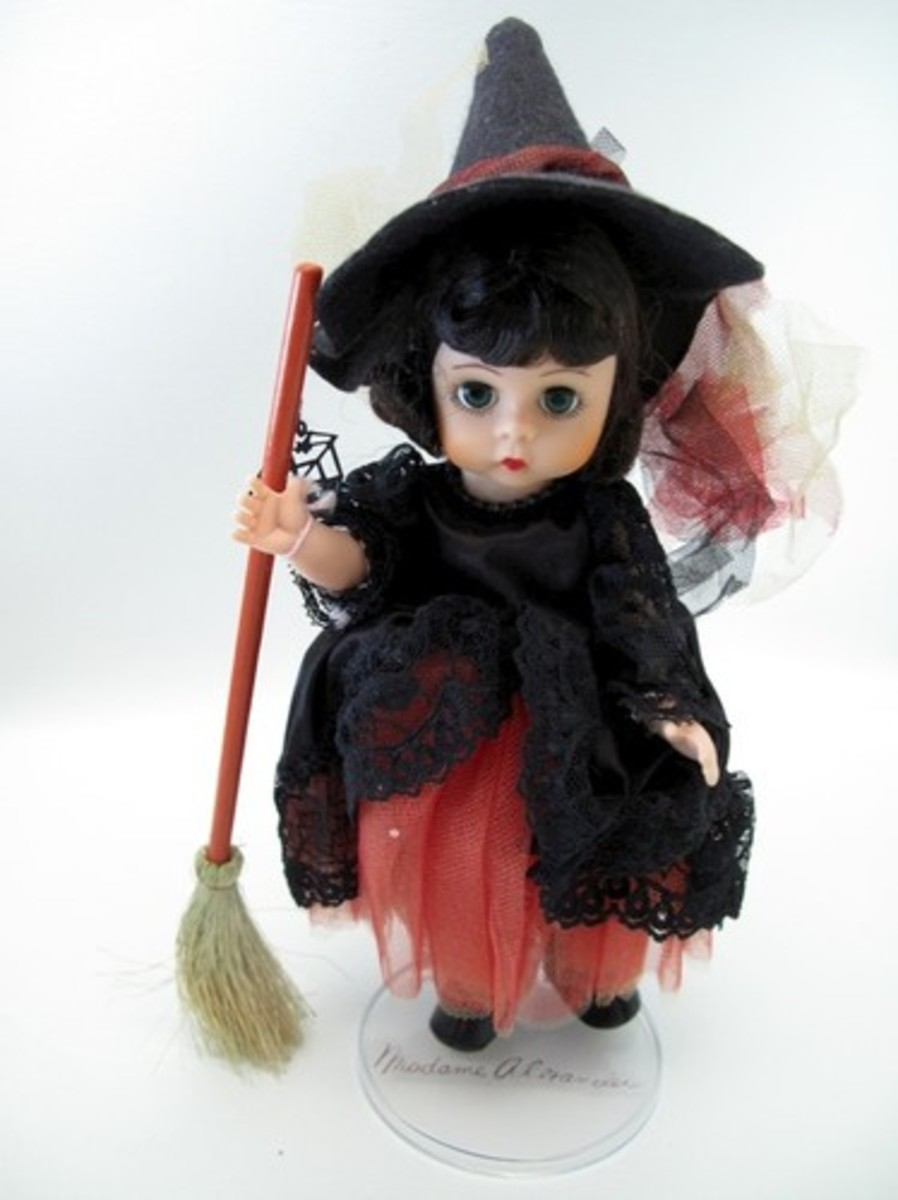 Madame Alexander Witch with Broom